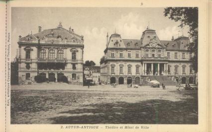 Théatre et Hôtel de Ville